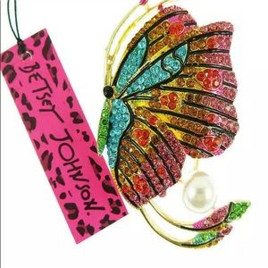 BETSEY JOHNSON~ Large BUTTERFLY